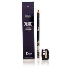 CH.DIOR/SOURCILS POUDRE POWDER EYEBROW PENCIL (593 BROWN) 0.04 OZ (1.2 ML)