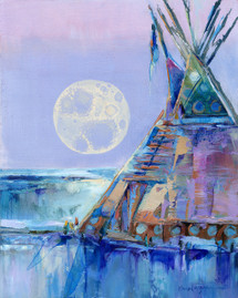 Winter Moon Rising-Montana-Soldout