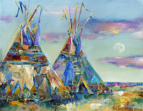 Full Moon Rising-Tipi- Sold out