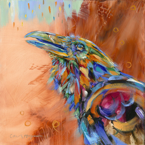 Orange Raven Chatterbox- Original- Sold out