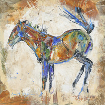 Horses - Oil and Wax - Blue Belly Buck