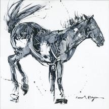 Horses - Cavallo - Box Spring Buck