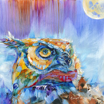Original - Owl Moon - Sold