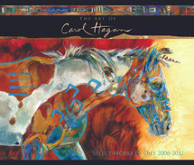 The Art of Carol Hagan - Book