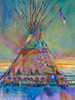 Limelight Tipi original painting