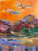 Cloud Dance in Paradise landscape painting