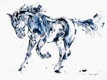Vaya Con Dios horse painting