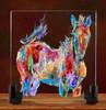 Pepita Glass Horses