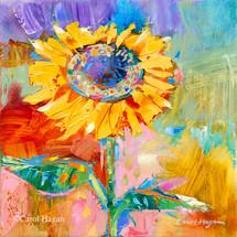 """Sun Dancer"" print on metal by Carol Hagan."