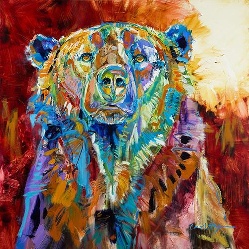 Mama Bear original oil painting