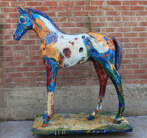 """Little One's Vision"" life sized colt"