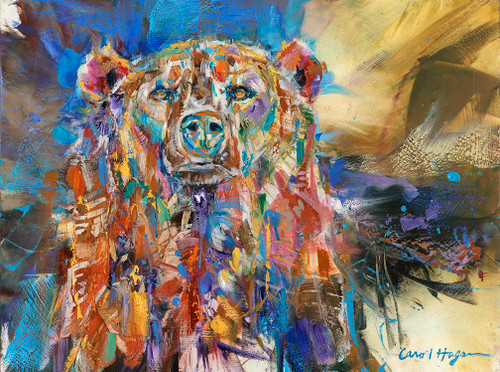 Sourpuss oil painting