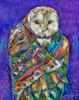 Owl Shaman - Metal Print