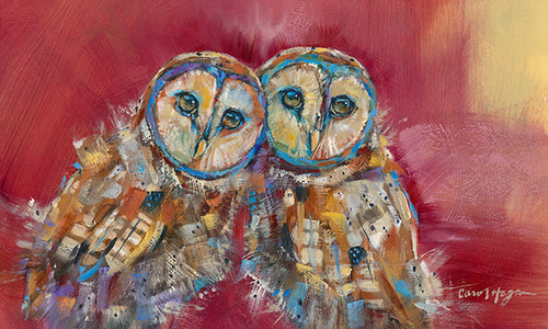 Little Sisters - Metal Print - Carol Hagan
