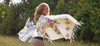 Appaloosa Breeze - Luxurious Montana Deer Suede Wrap