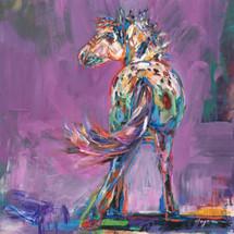 Feathered Breeze - Original Painting - Carol Hagan