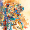 """Bear's Coat of Many Colors"" Original oil painting"