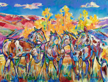 High Country Paints - Limited Edition Print by Carol Hagan