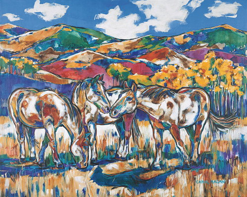 Horses - September Sky - Limited Edition