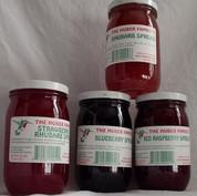 Cranberry/Raspberry Spread, 10 or 20 oz.