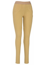 TuffRider Ladies Cotton Schoolers - Tan/Front