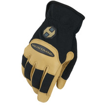 Heritage Stable Work Gloves in colors Black and Tan