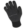 Heritage Chenille Knit Gloves in Black Palm