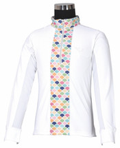 TuffRider Children's Iris EquiCool Riding Sport Shirt - Front