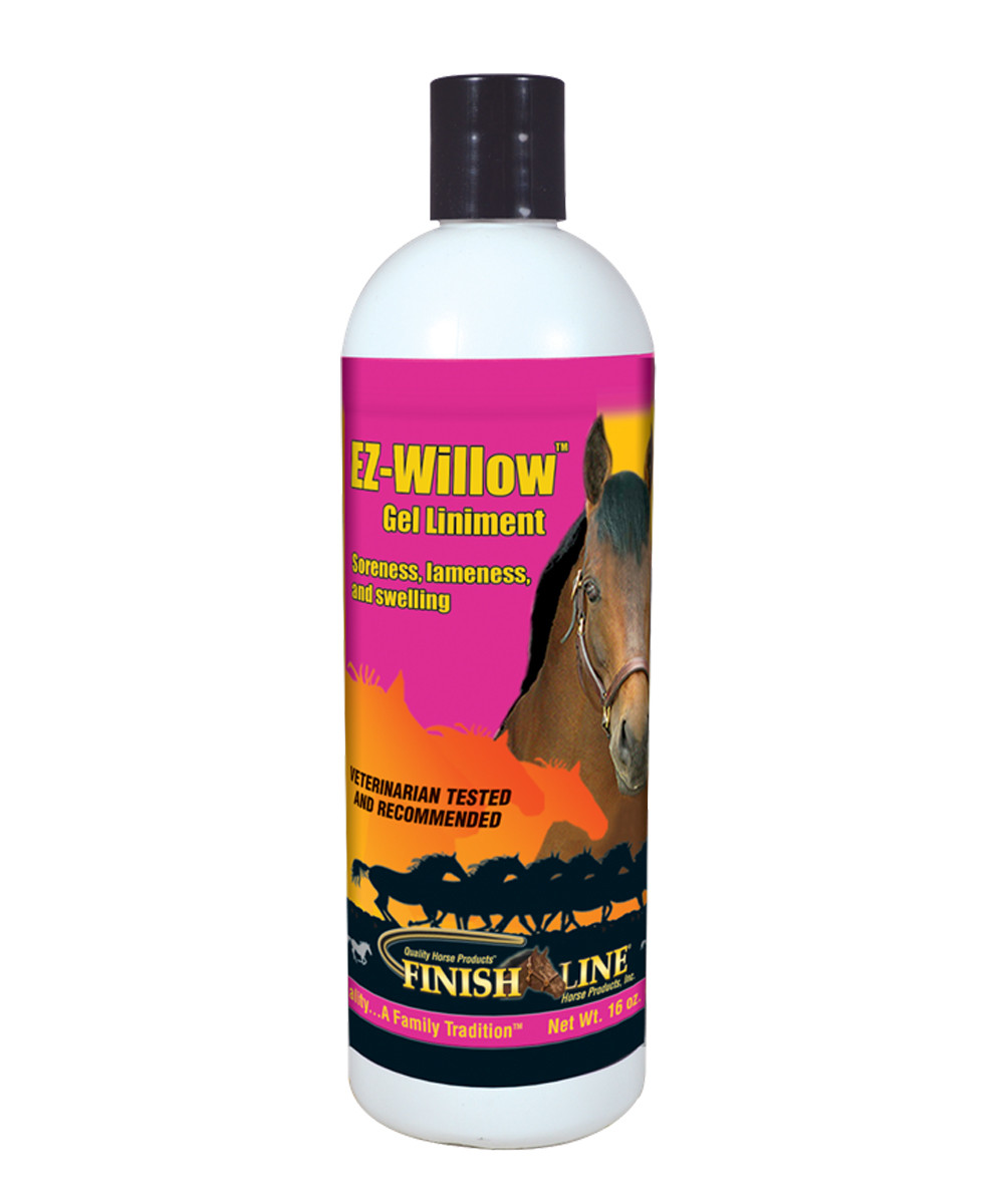 Finish Line Horse Products EZ-Willow Gel Liniment (16 oz)