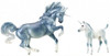 "Breyer Horses - ""Cascade and Caspian"" Unicorn Mare and Foal"