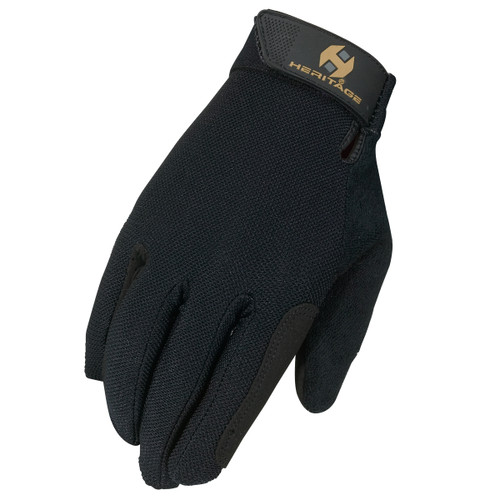 Heritage Summer Trainer Gloves - hand
