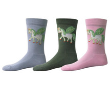 TuffRider Unicorn Kids Socks - 3 Pack