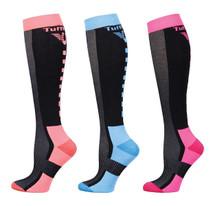 TuffRider Ladies Ventilated Knee Hi Socks - 3 Pack