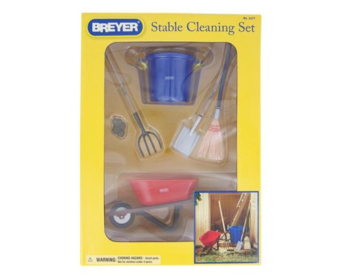 Breyer Horses - Stable Cleaning Set - Box Front