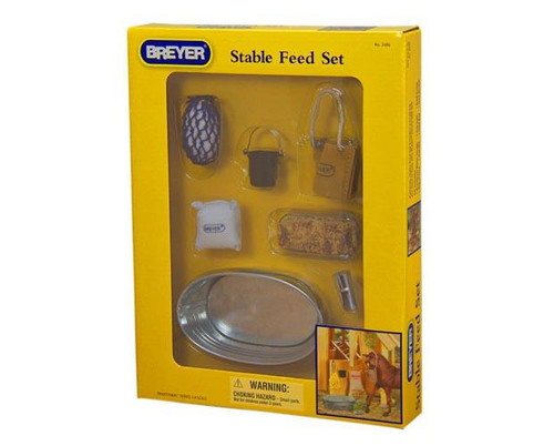 Breyer Horses - Stable Feed Set - Box Front