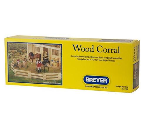 Breyer Horses - Natural Wood Corral - Box Front