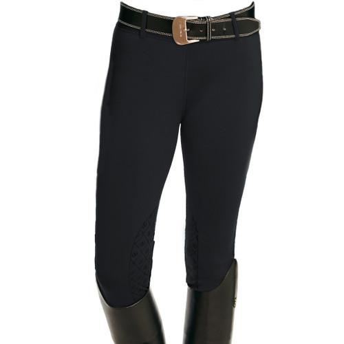 Ovation Children's Equinox 3-Season Knee Patch Pull On Breech - Black