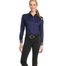 Ovation Ladies Equinox 3-Season Full Seat Pull On Breech - Black