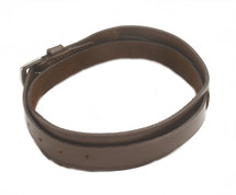 Ovation Brown Leather Garter Strap - 467301