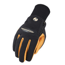 Heritage Gloves Extreme Winter Work Gloves in Black/Tan