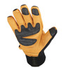 Heritage Gloves Extreme Winter Work Gloves in Black/Tan - Palm