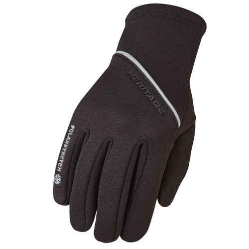 Heritage Gloves Polarstretch 2.0 Winter Glove - Black