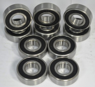 608-2RS 8mm Bore 10 pack