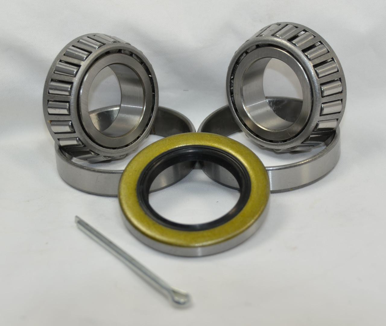 2 x Trailer Taper Roller Hub /& Bearings L44643