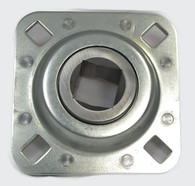 "FD208R1 ST208-1N 1"" Square Bore Flanged Bearing Unit"