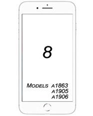 iPhone 8 Broken Glass/ Digitizer Replacement service.