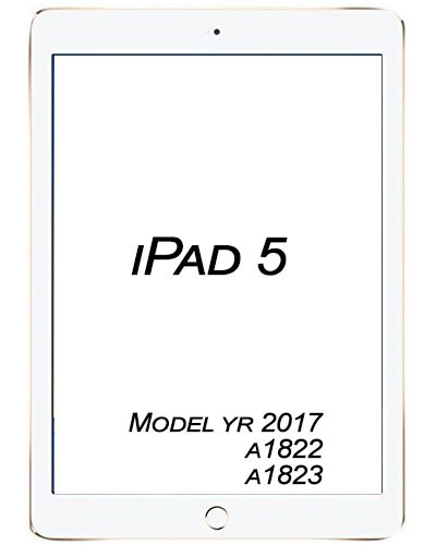 Apple iPad 5 2017 Broken Glass/digitizer service.
