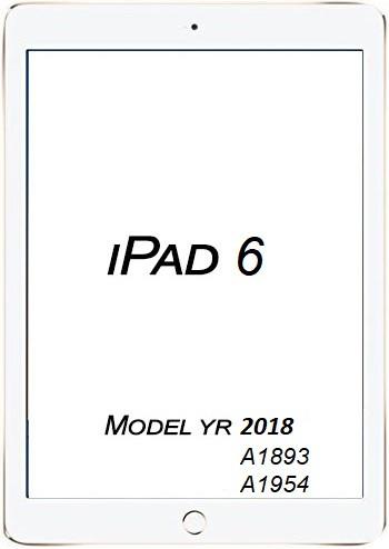 Apple iPad 6 2018 Broken Glass/digitizer service.
