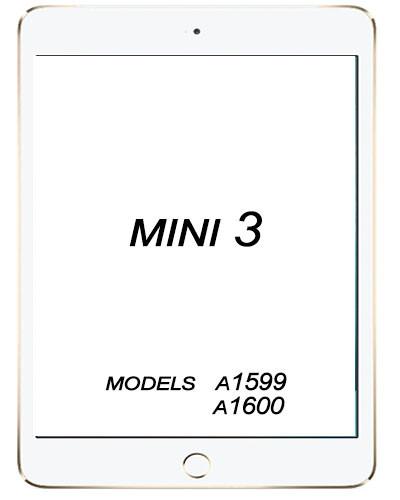 Apple iPad Mini 3 3rd Gen Glass replacement
