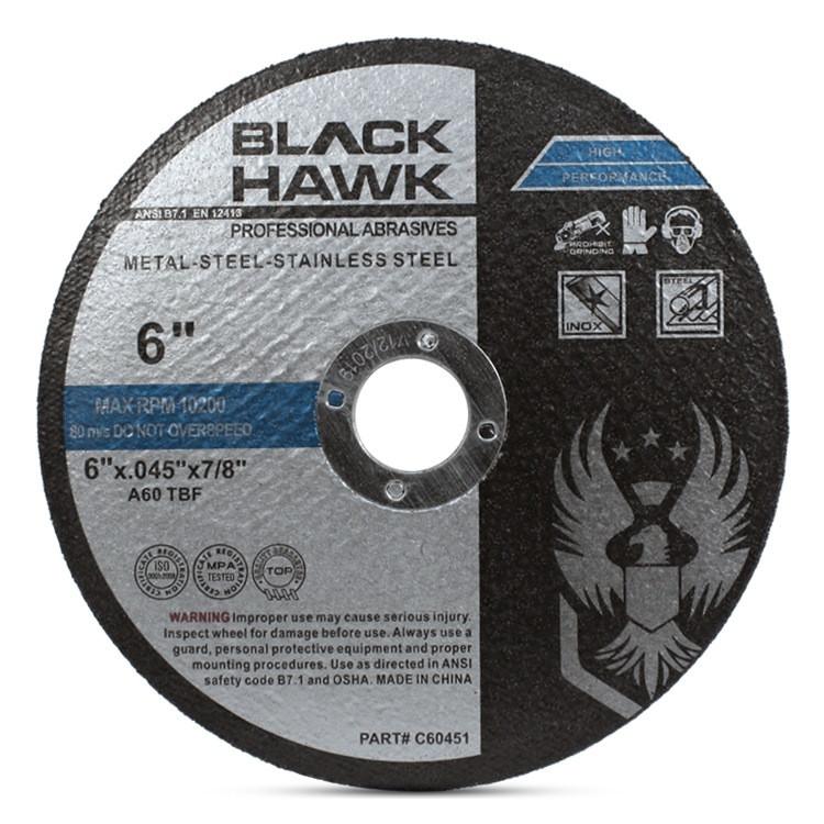 """6"""" x .045 x 7/8"""" Cutting Disc T1"""